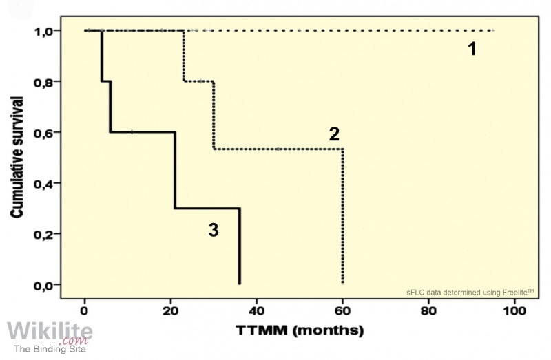 Figure 21.6. Solitary plasmacytoma risk stratification model.
