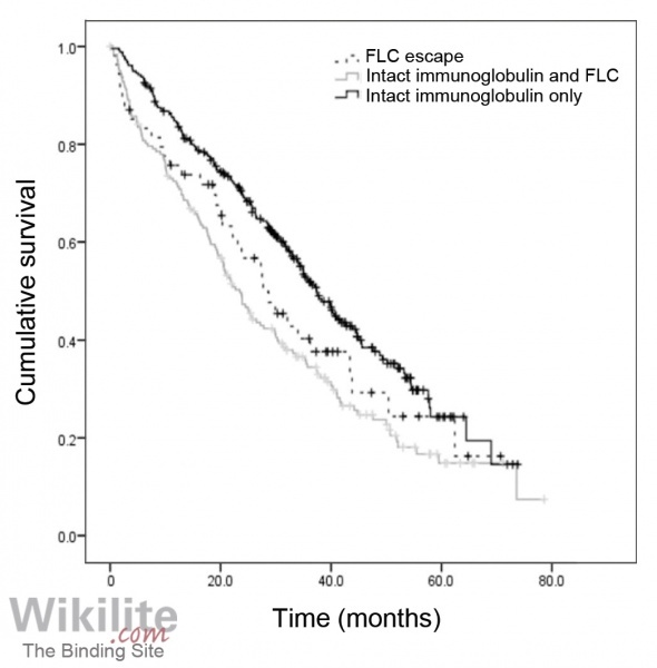 Figure 20.7. Kaplan-Meier curves of survival from first relapse according to patterns of relapse.